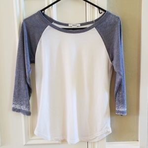 White and Grey Tee